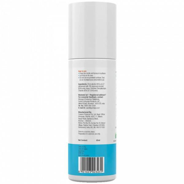 Godrej Protekt On The Go Travel Disinfectant Spray - Kills 99.9% Germs & Bacteria, 85ml