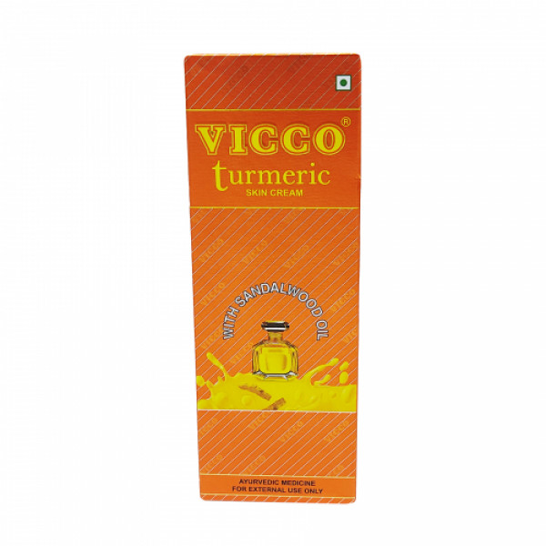 Vicco Turmeric Skin Cream With Sandal Wood, 70gm