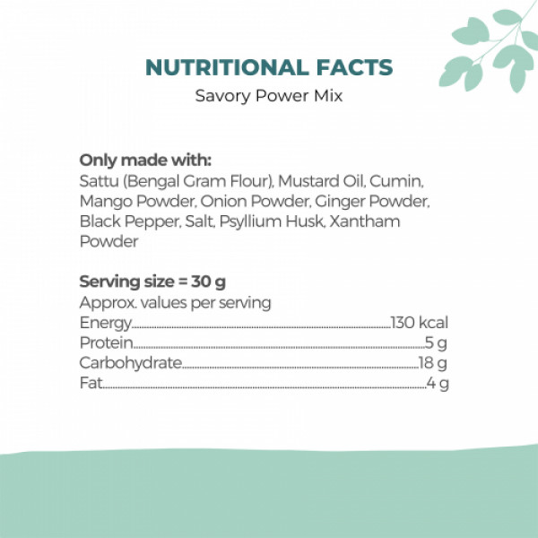 OMH Savory Power Mix, 400gm