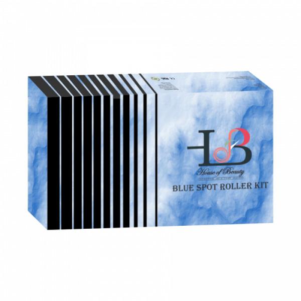 House of Beauty Blue Spot Facial Roller Massager