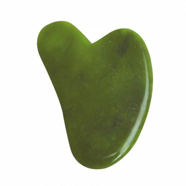 KvellVeda 100% Natural Jade Facial Roller & Gua Sha Tool