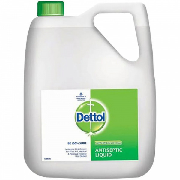 Dettol Antiseptic Disinfectant Liquid, 5l