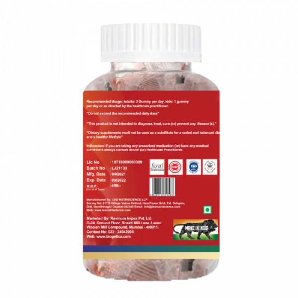 Biogetica Apple Cider Vinegar, 30 Gummy