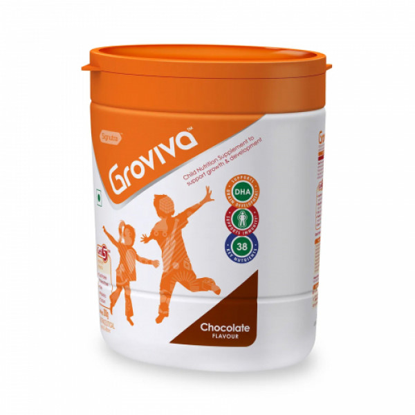 Groviva Child Nutrition Supplement Chocolate, 200gm