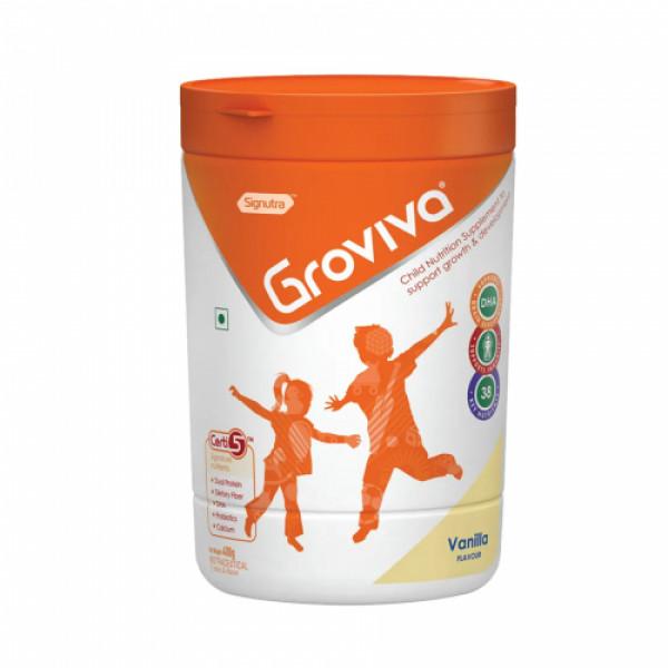 Groviva Child Nutrition Supplement Vanilla, 400gm
