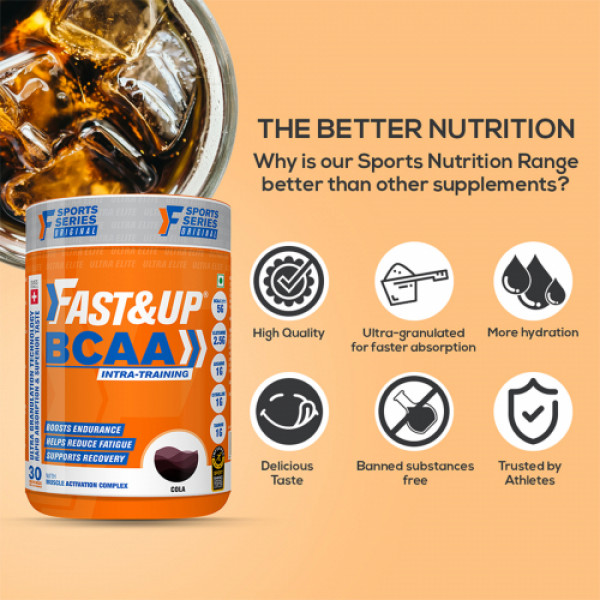 Fast&Up BCAA - Cola, 450gm