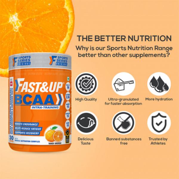 Fast&Up BCAA - Orange, 450gm
