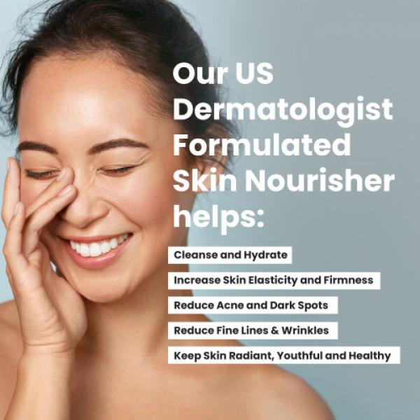 Wellbeing Nutrition Skin Fuel - Marine Collagen, L-Glutathione & Hyaluronic Acid, 30 Tablets
