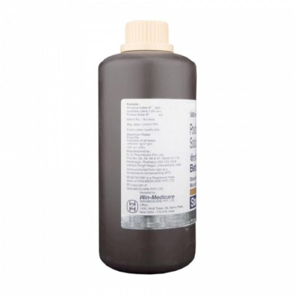 Betadine 10% Solution, 500ml