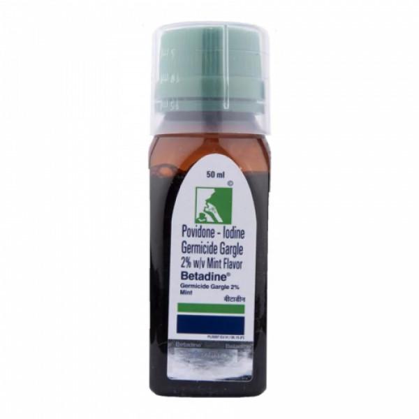 Betadine 2% Gargle Mint, 50ml