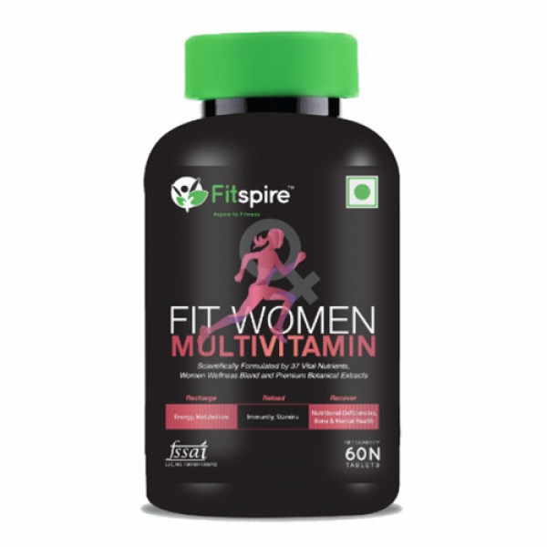 Fitspire Fit Multivitamin for Women, 60 Tablets