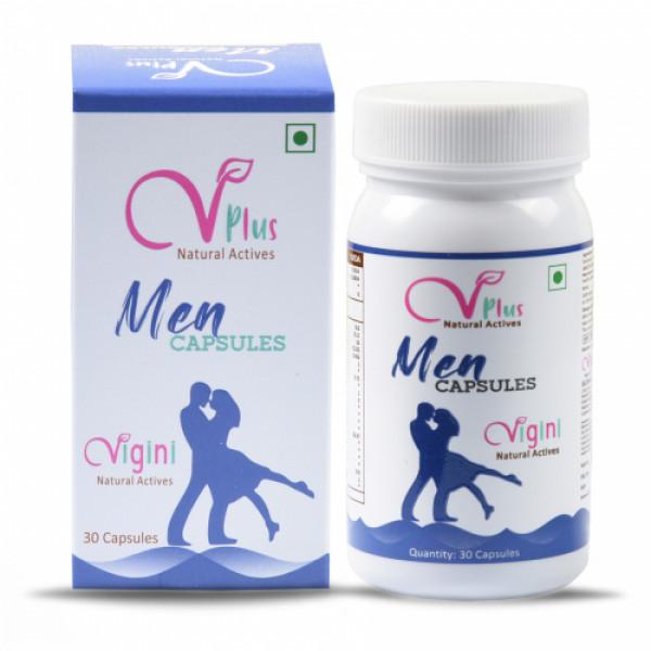 Vigini Vplus Natural Actives Men, 30 Capsules
