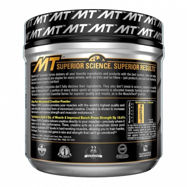 Muscletech Platinum 100% Creatine Unflavoured, 400gm