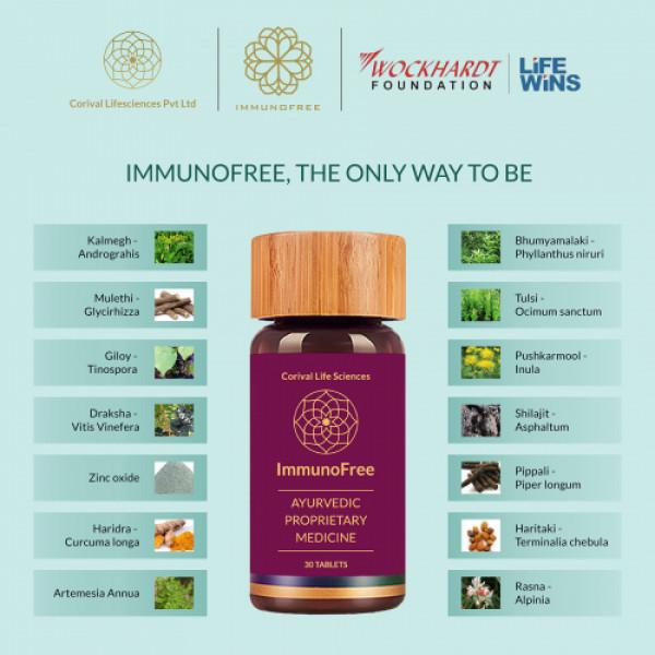 Biogetica Immunofree, 180 Tablets