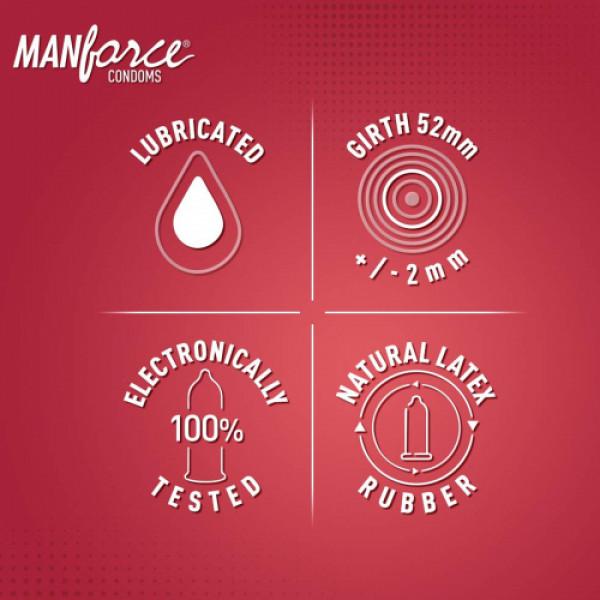 Manforce Sunny Edition Condoms, 10 Pieces
