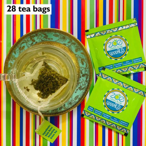 Zoe Nutrition Darjeeling Green Tea, 28 Tea Bags