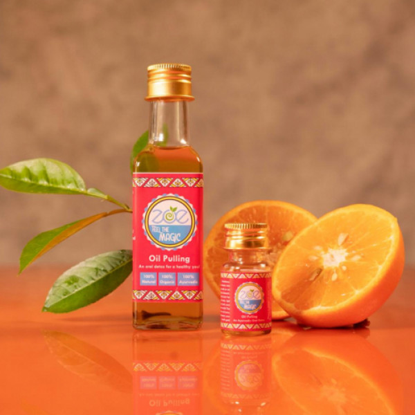 Zoe Sweet Orange & Sesame Seeds Oil Pulling Oral Detox, 100ml