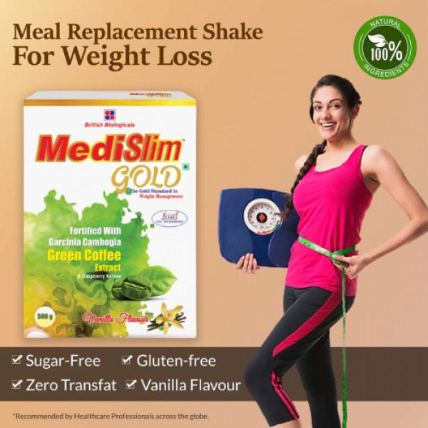 Medislim Gold Weight Loss Drink Vanilla, 500gm