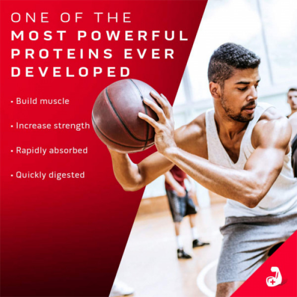 Muscletech Nitro Tech Whey Gold Protein Powder Strawberry, 2.51kg