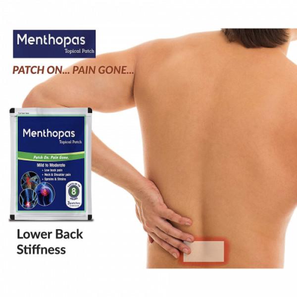 Menthopas Topical Pain Relief Patch, 10 Sachets
