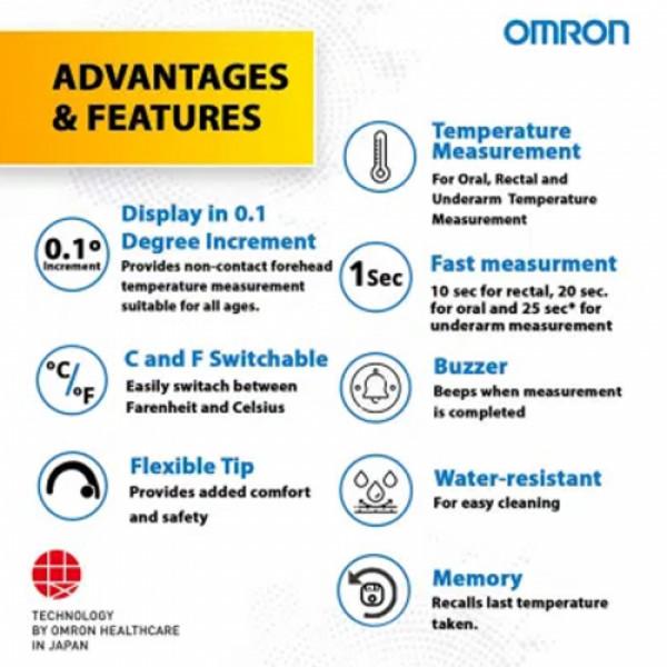 Omron MC-343F Digital Thermometer