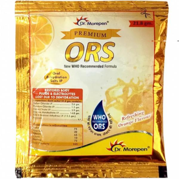 Dr.Morphen Premium ORS Orange Flavour, 21.8gm