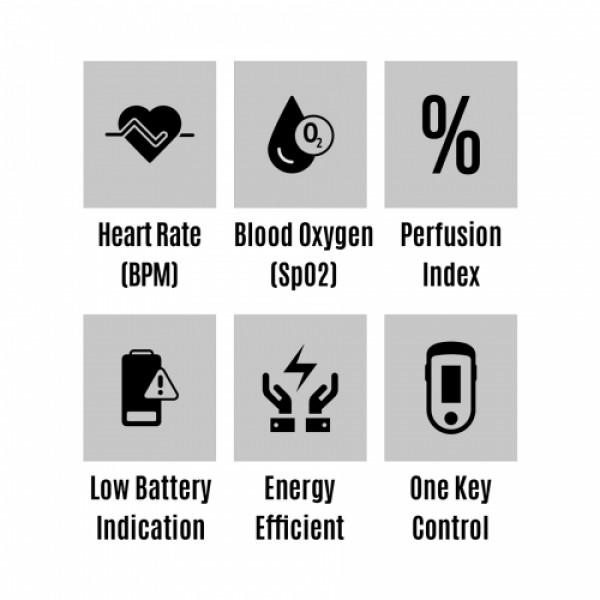 Zebronics ZEB-FPO500 Pulse Oximeter