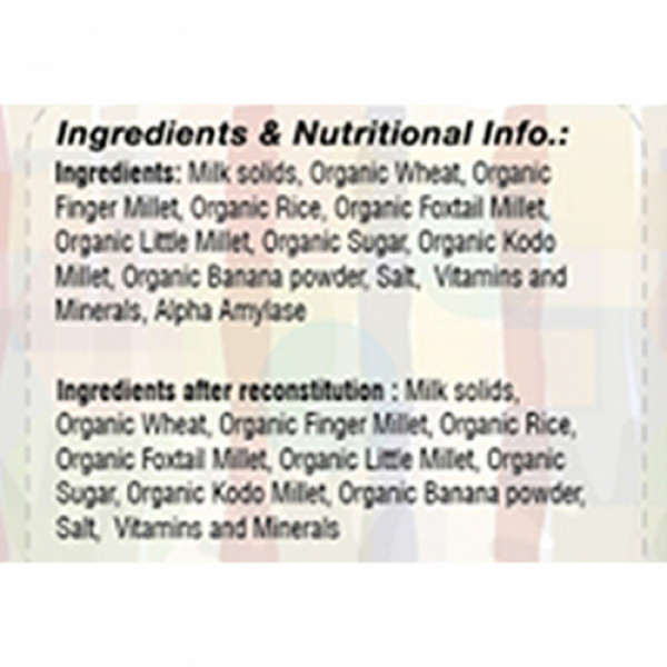 Pristine 1st Bites Organic Millets Baby Cereal Stage 3, 300gm