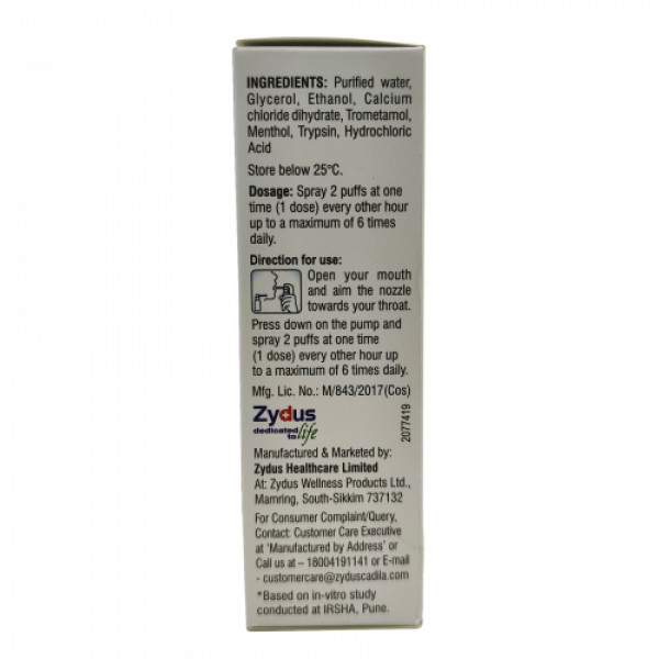 Viroshield Mouth Spray, 30ml : Protection Against Viral Infection, For Adults and Children over 4 Years of Age