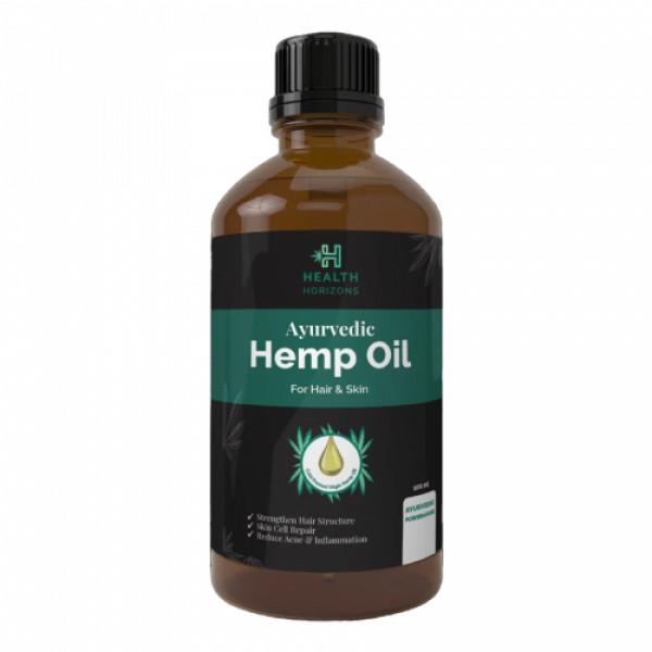 Health Horizons Hemp Skin & Hair Oil, 100ml