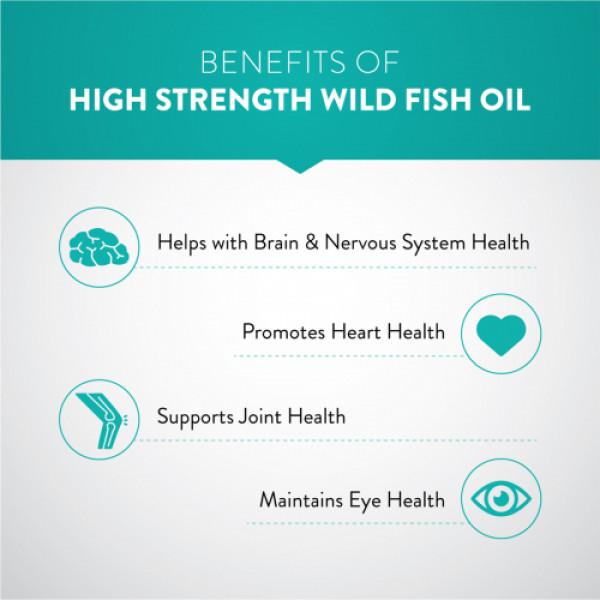 Swisse Ultiboost Odourless High Strength Wild Fish Oil With 1500mg Omega 3 for Heart Brain Joints & Eyes, 40 Capsules
