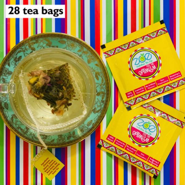 Zoe Nutrition Kashmiri Spiced Green Tea, 28 Tea Bags