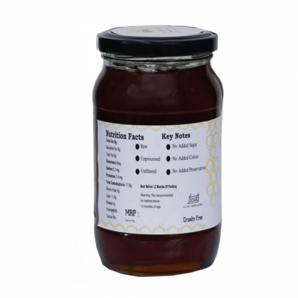 FORTHONEY Organic Raw Honey, 500gm