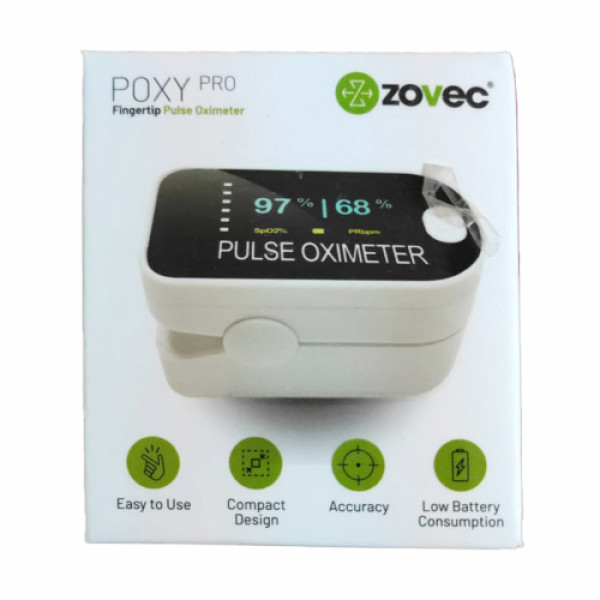 Zovec Poxy Pro Fingertip Pulse Oximeter