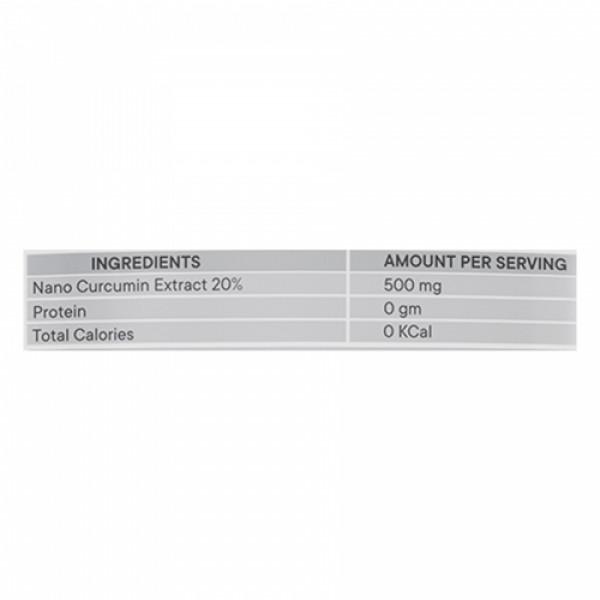 Neurapid Nanocurcumin, 60 Capsules