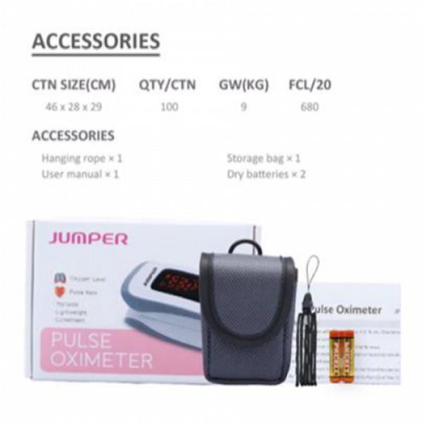 Jumper Fingertip Pulse Oximeter