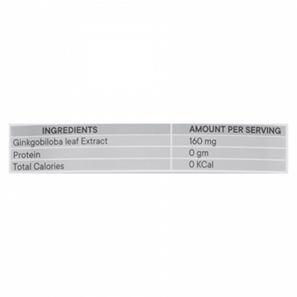 Neurapid Ginkgobiloba, 60 Capsules