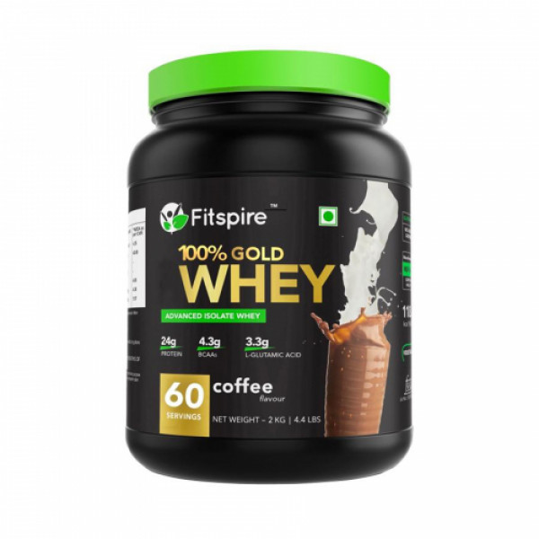 Fitspire Gold Whey Protein Isolate, 2kg