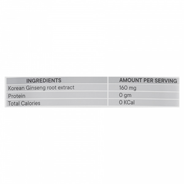 Neurapid Korean Ginseg, 60 Capsules