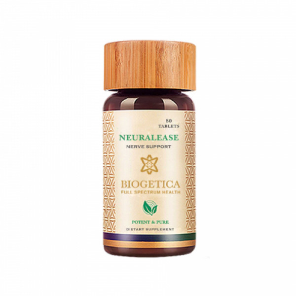 Biogetica Neuralease - Nerve Support, 80 Tablets