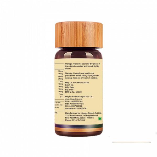 Biogetica Livosolve - Liver Support, 80 Tablets