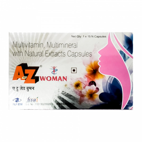 A to Z Women, 15 Capsules