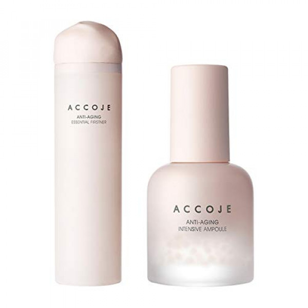 Accoje Anti - Aging Essential Firstner + Anti - Aging Intensive Ampoule, 160ml