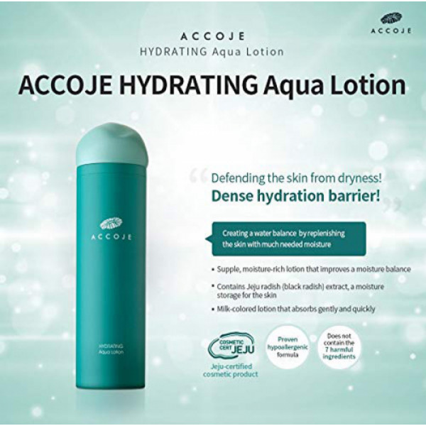 Accoje Hydrating Aqua Toner + Hydrating Aqua Lotion, 260ml