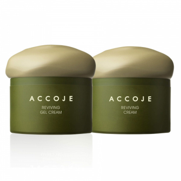 Accoje Reviving Cream + Reviving Gel Cream, 100ml