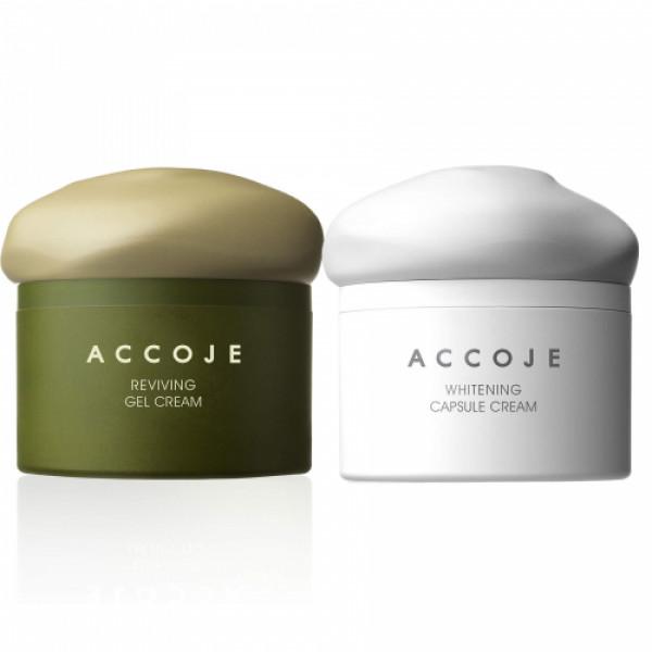 Accoje Reviving Gel Cream + Capsule Cream, 100ml