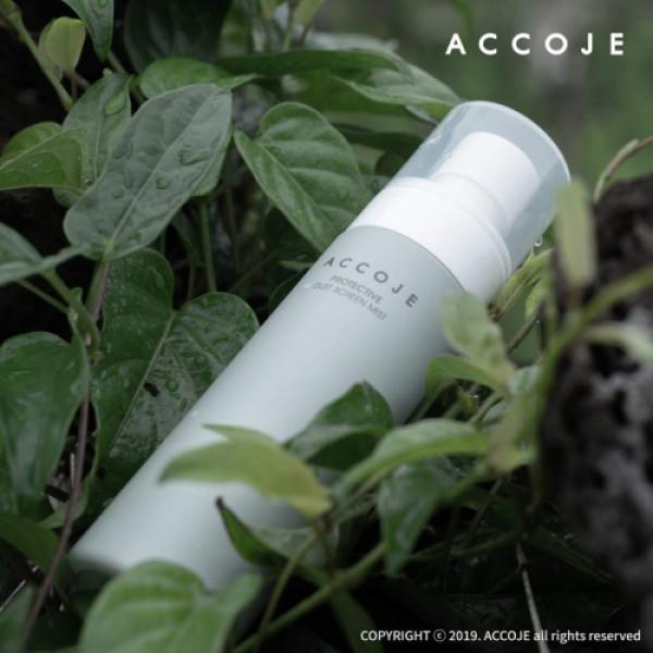 Accoje Vital in Jeju Purifing & Peeling Cleansing Foam + Protective Dust Screen Mist, 250ml