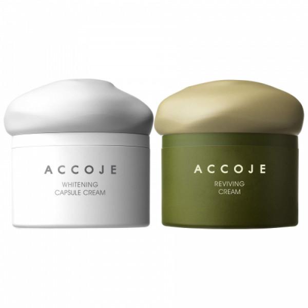 Accoje Capsule Cream + Reviving Cream, 100ml