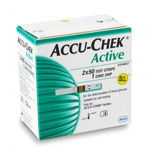 Accu-Chek  Active, 100 Strips
