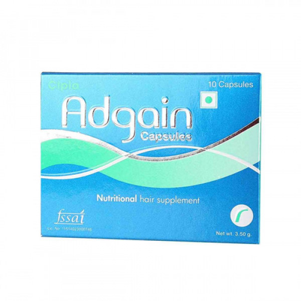 Adgain, 10 Capsules